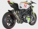 Ducati Streetfighter Pramac Racing Auspuffanlage von SC-Project
