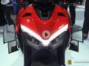 Ducati Streetfighter V4 2020 mit Zubehörteilen - Walkaround Eicma 2019