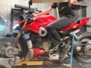 Ducati Streetfighter V4 - Dynorun / Leistungsdiagramm by MCN, Motorcyclenews.com