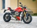 Ducati Streetfighter V4S - Landstrassen- und Rennstreckentest von Asphalt Süchtig