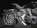 Ducati XDiavel Sport Paket: geschmiedete Alufelgen, Lenkerversatz, Tankdeckel