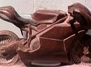 Ducati 999 aus Granit