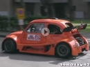 DumDum Geschoß: Fiat 500 mit Suzuki mit GSX-R1000 Motor