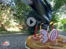 Durchgeknallt: 30 Jahre GSX-R - die Kerzen auf der Geburtstagstorte