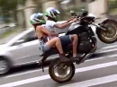Durchgeknallt in Curitiba - Burnout, Speeding im Stadtverkehr - Wahnsinn