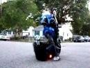 Motorrad Dummbeutel mit Plan: Drehzahl halten, aufspringen, losfahren