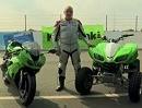 Ein Blinder fährt Motorad - Ralf Mackel macht das Rennen
