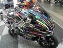 Ein Kessel - ähhh Motorrad - Buntes - Aprilia auf der Motorradmesse Dortmund (PS-Stand)