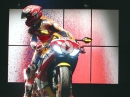 Ein Originaler Marquez - Burnout painting by Marc Marquez