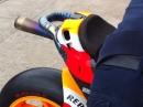 Ein Satz heisse Ohren: MotoGP Honda RC213V WarmUp Termignoni