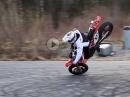 Einer der Besten: Arttu Stenberg, Honda CRF 450L - Supermoto Frühlings Stunts