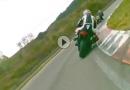 Eingenässt!!! Motorrad Renntaxi in Ales - extrem durchgeknallt, reingeknallt