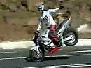 Einhand Stoppie / One handed stoppie Cool