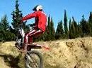 Einrad Trial: Wer sagt dass ein Motorrad 2 Räder haben muss?