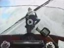 Eisracing: Gaskranke on Ice - mit Spikes und Hangoff über zugefrorenes Wasser