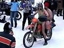 Elefantentreffen 2009 - nackter Mann auf Motorrad