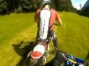 Enduro Crash. Ein Blinder fährt Motorrad!? Hallloooooo