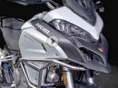Enduro Kit für Ducati Multistrada 1200: Kühlerschutz, Sturzbügel, LED Lampen ...