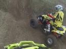 Quad / ATV Enduro Steinitz #66 N.Janssen Go Pro hinter #70 M.Schroeder