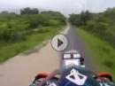 Enduro unter Volllast - Jurgen van den Goorbergh beim andrücken bei der Dakar