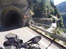 Eng und enger, krasse Kehren. SS36 zwischen Pianazzo und Corti / Campodolcino.