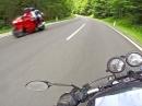 Engagiert: Hochschwab Straße, Steiermark by Schaaf, CB500 LeoVince