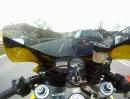 Engagierter Helmkamera-Test auf der Hausstrecke
