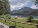 Entlang des Erlaufsee, Mariazellerland in der Steiermark
