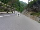 Entlang des Lago di Valvestino mit BMW K1200RS