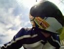 Erste Runde mit dem Motorrad auf dem Spreewaldring