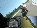 Erste Runden auf dem GP-Kurs von Hockenheim 4.6.2010