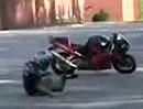 Motorrad Anfänger - Alles lief gut, bis Zug auf die Kordel kam und ZACK entwickelt ...