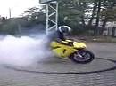 Erster Dounat - Kurz vorm Reifenwechsel