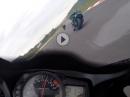 Erstes Mal Kringel: Nürburgring Sprintstreckel GSX-R 1000 K6