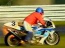 Es brennt, es brennt ... Michael Rudroff fackelt seine Suzuki ab 1997