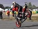 Euro Stunt Bike Display - Crazy und Fahrzeugbeherrschung vom Feinsten.