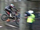 Extrem: David Knight - Knighter - anstatt sich zu quälen springt er einfach - Geil!