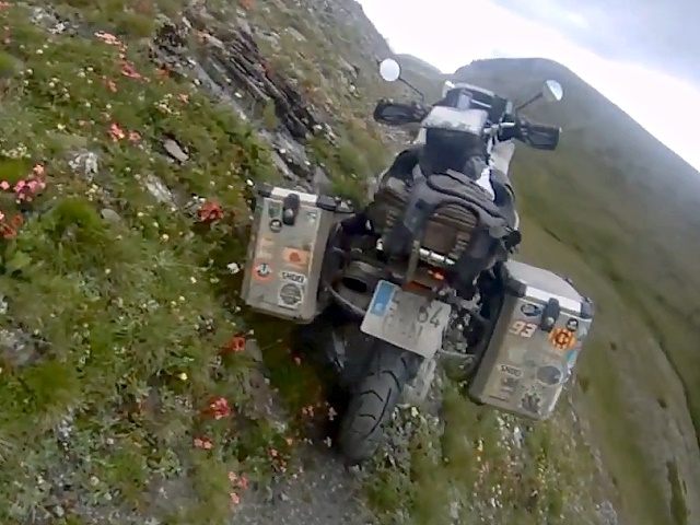 Extrem Enduro BMW R 1200 GS Adventure - der traut sich was