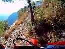 Extrem Enduro: Ligurische Grenzkammstrasse (LGKS) Links steil runter, rechts steil hoch - BigBalls