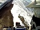 Extremst Enduro Gratwanderung: Höhenangst kontraproduktiv