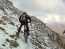 Extrem Trial - Schnee, Glätte, Abhang - Angst sollte man nicht haben