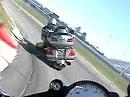 Honda Goldwing lässt es auf dem Kringel krachen! - Zwei Zimmer, Küche Bad und das Knie am Boden