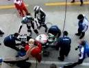 Fahrerwechsel, Reifenwechsel, Tanken - Team AM Moto Racing