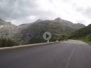 Fahrt auf den Furkapass (2429m) von Gletsch aus kommend mit BMW R1250GS