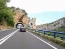 Fahrt von Graus nach Olvena - Pyrenäen Tour 2018 mit BMW R1200GS