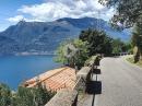 Fahrt zum Comer See, auf der SP67 von Taceno nach Bellano über die SP66 mit BMW R1250GS