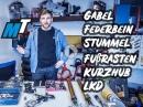 Fahrwerk und Ergonomie anbauen - Suzuki GSXR Projekt / MotoTech