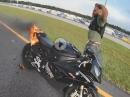 Fahrzeugbrand: BMW S1000RR fackelt ab :-(