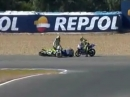 Fair Play - Hut ab - Luca Marini hilft Fahrer nach Crash - Respekt