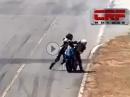 Faire Sportler: Crash und Roadrage :-( Unsportlicher gehts nimmer